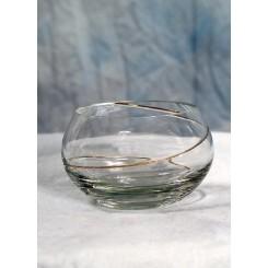 Guldspiral skål Ø 10 cm