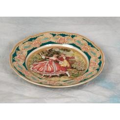Porcelæn Fajance dessert tallerken