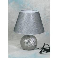 Lampe silver touch 24/38 cm m/sølvskærm