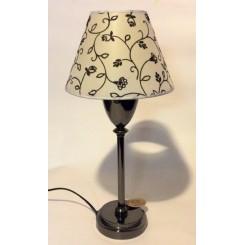 Lampe med skærm