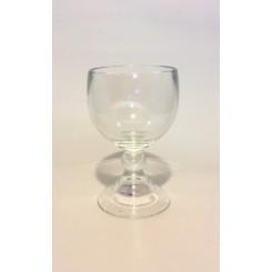 Kraftig glas til fyrfadslys eller deko