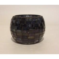 Glas krukke shining black