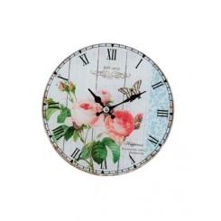 Clock 17x4x17 cm.