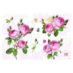 Roser dækkeservietter