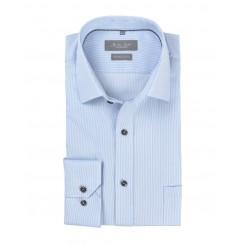 Lyseblå Skjorte med striber
