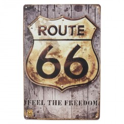 metalskilt ROUTE 66