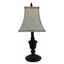 Sort lampe 50 cm