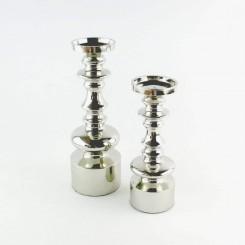 Forkromet Blokstage aluminium 30 cm